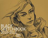 BLACK SKETCHBOOK: 2010-2011 | PART B
