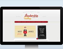 Leadership Cake - branding & web design