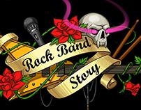Rock Band Story logo
