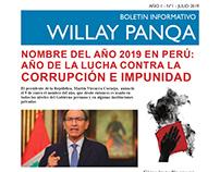 Boletín Informativo tipo Periódico-Peruano