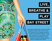 Bay Street Emeryville Mall ad for Oakland Magazine