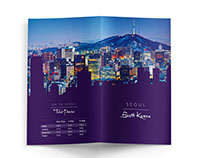 Travel brochure: Seoul, South Korea