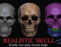 Realistic Skull (Basic pack, Standart pack)
