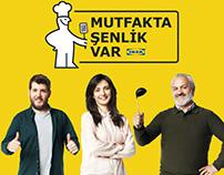 "Ikea ""Mutfakta Senlik Var"" // 2016"