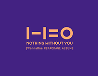 WannaOne 1-1=0 (Nothing Without You) Brand design