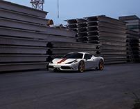 Ferrari 458 speciale personal work
