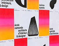 École Camondo, visual identity