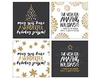 Holiday greeting cards || Therandomp