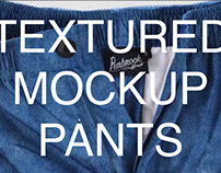 Textures Mockup Pants
