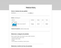 Wireframe para proposta de nova página de e-commerce