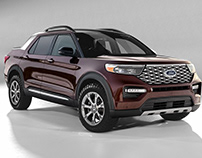 Ford Explorer Pick Up 2022