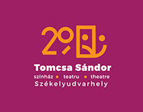 Tomcsa Sándor Theatre - Logo Concepts