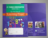 unique school book cover designs vector creative 2018