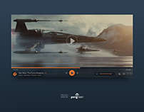Daily UI Challenge 057 - Video Player