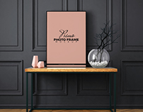 Free Primo Photo Frame MockUp Psd