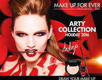 ARTY COLLECTION  // MAKE UP FOR EVER