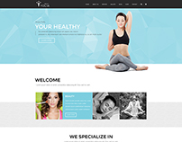 Yolia - Beauty PSD Template