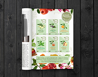 Health Tea magazine ads