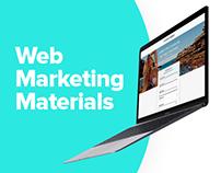 Web Marketing Materials