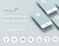 3 Templates Highlights pack for instagram