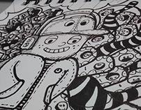 Doodle Supaman Boy - Wilmai