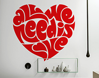 Valentine's Day Wall Decals