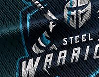 """Steel Warriors"" | Premade Mascot Logo"