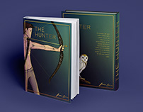 """Illustrated Cover of the book """"The Hunter"""""""