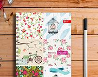 Design of the organizer (notepad)