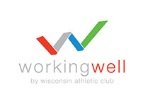 Wisconsin Athletic Club - Working Well Logo
