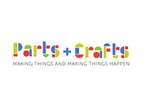 Parts and Crafts Logo Redesign