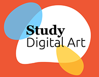 Study Digital Art — Educational Website