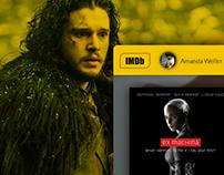 IMDb Redesign Concept 2017