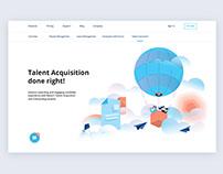 HRMS website UI/UX Design