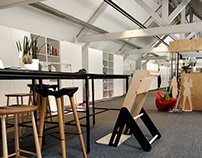 Thesis Jaswig: The SeatUp, A Flatpack Lean Chair