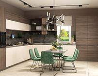 Design from KSD: Kitchen, Living room, Bathroom