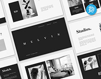 Melvin minimal presentation template