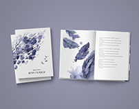 Poetry Book Design / Cover and Illustrations