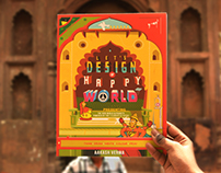 Let's Design a Happy World (Interactive Graphic Book)
