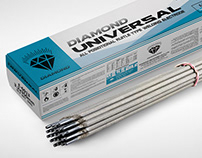 DIAMOND UNIVERSAL WELDING ELECTRODES (PACKAGE DESIGN)
