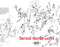 Surreal Doodle World - book