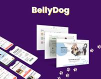BellyDog Mobile & Web design UI UX
