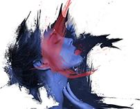 DESIGN / Blue & Red