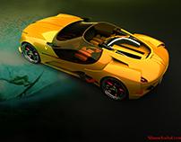 Ferrari 250 Malibu by Slimane TOUBAL
