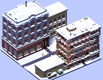 'It's one block of snow all around the place' — voxel