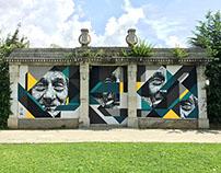 MURAL at EDONÉ BERGAMO | PIGMENTI ● 2015