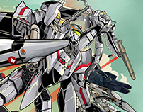 Macross Zero Illustration