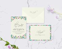 Convite de casamento | Julia & Gustavo