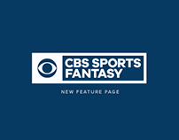 CBS Fantasy - New Feature Page