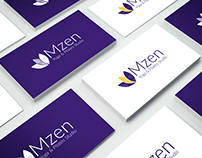 Logo Design Mzen Yoga & Pilates Studio